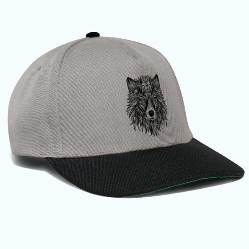 Mandala wolf - Snapback Cap