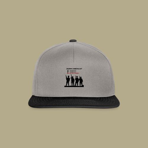 Skirm Checklist - Snapback cap
