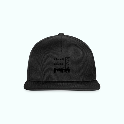 NIX - Snapback Cap