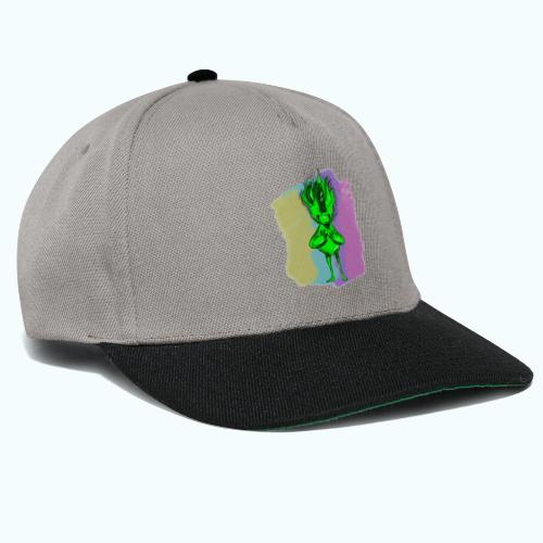 LITTLE COBOLD real drawing - Snapback Cap