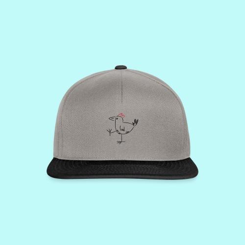 laufendes Huhn - Snapback Cap