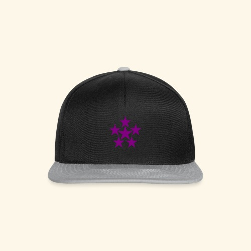 5 STAR lilla - Snapback Cap
