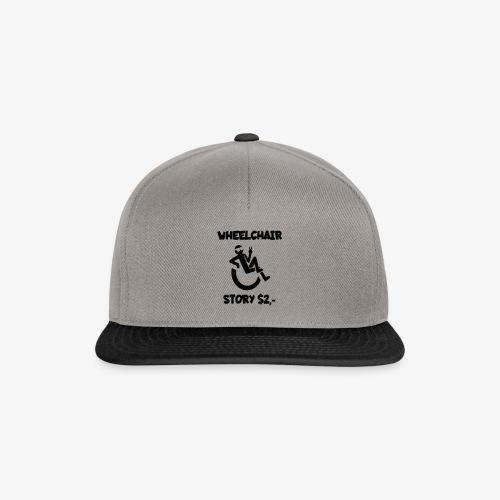 Rolstoel verhaal 001 - Snapback cap