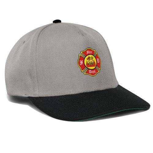 Feuerwehrschild-Fire-Dept - Snapback Cap