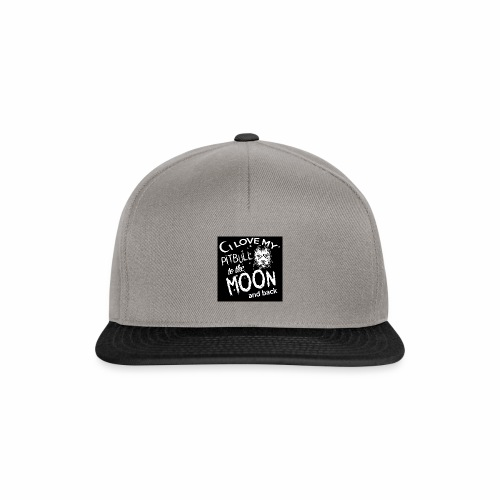 Pitbull to the moon - Casquette snapback