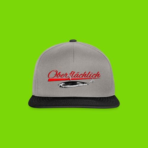 Oberflächlich Entwurf2 - Snapback Cap