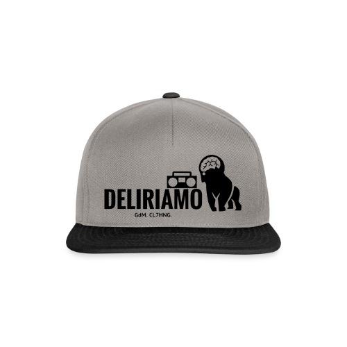 DELIRIAMO CLOTHING (GdM01) - Snapback Cap