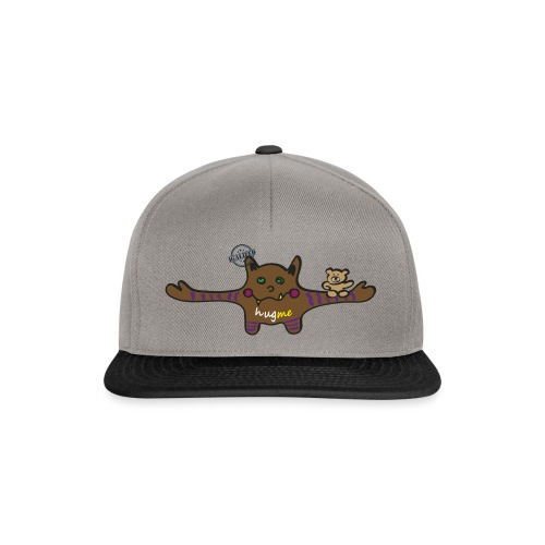 Hug me Monsters - Every little monster needs a hug - Snapback Cap