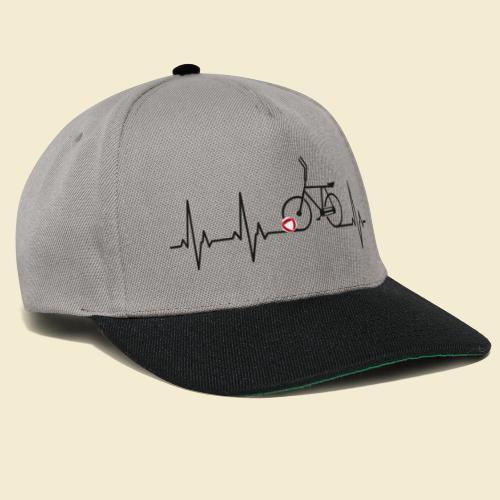 Radball | Heart Monitor Black - Snapback Cap