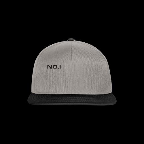 no 1 logo - Snapback Cap