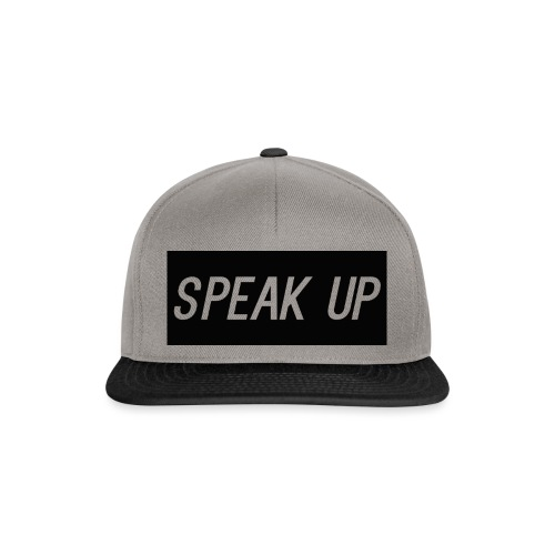 speak up - Snapback Cap