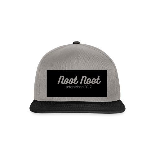 Noot Noot established 2017 - Snapback Cap