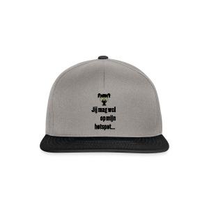 Jij mag wel op mijn hotspot... - Snapback cap