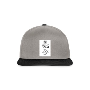 Keep Calm and Look Up - Snapback cap
