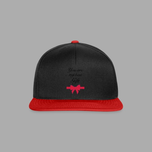 you are my best gift - Snapback Cap