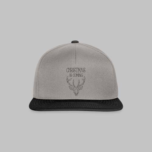 Deer Christmas - Snapback Cap