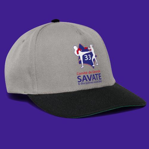 Comité Savate 33 - Casquette snapback
