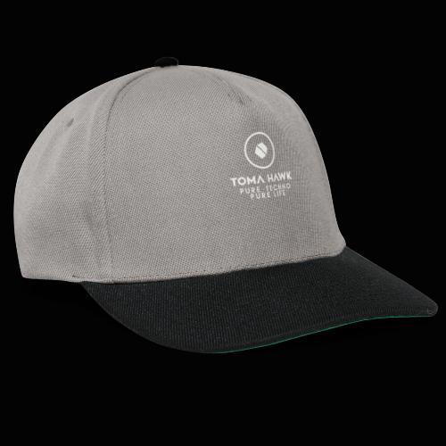 Toma Hawk - Pure Techno - Pure Life White - Snapback Cap