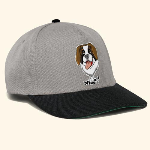 Nice Dogs san bernardo - Snapback Cap