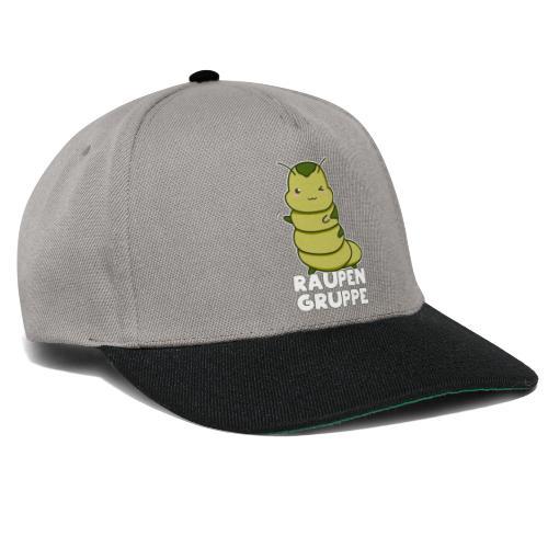 Raupen Gruppe Kindergarten - Snapback Cap
