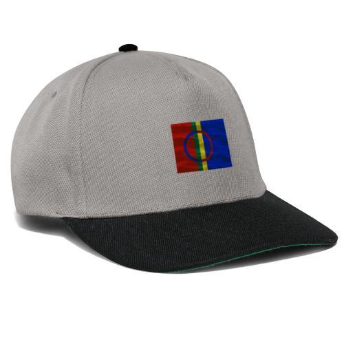 Sapmi flag - Snapback-caps