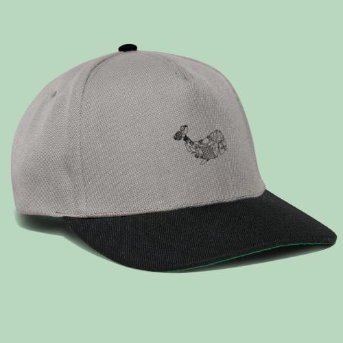 Plastic walvis - Snapback cap