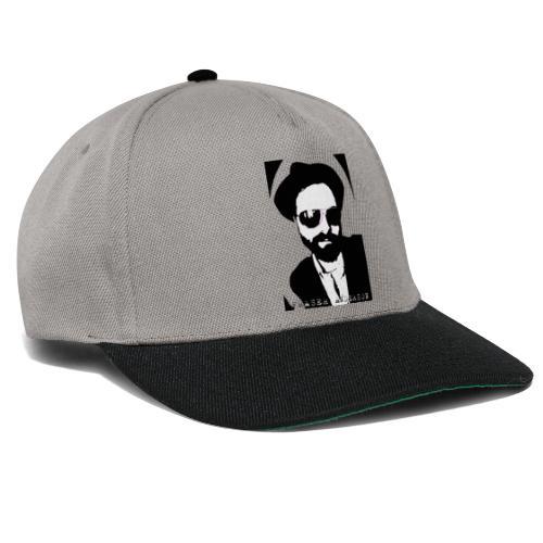 B W Pop art design trans - Snapback Cap