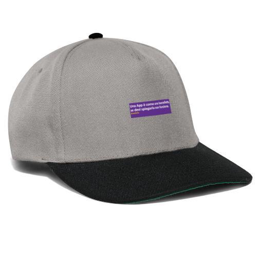 barzelletta - Snapback Cap