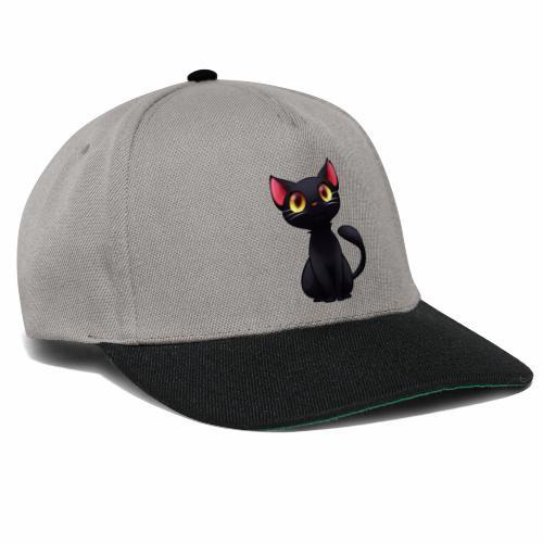 Black Cat - gatto nero - Snapback Cap