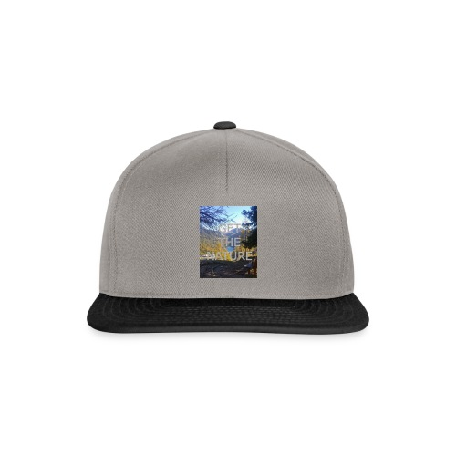 Get the Nature - Snapback Cap