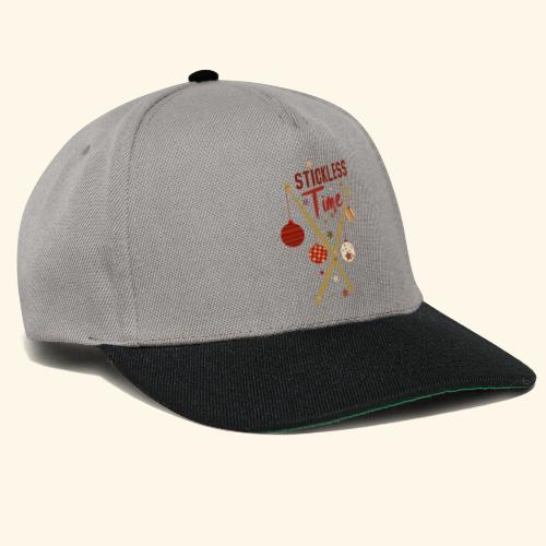 Stickless Time Drums - Snapback Cap