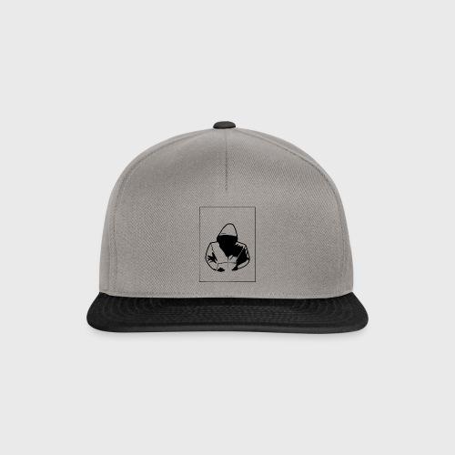 dark hoodie - Snapback Cap