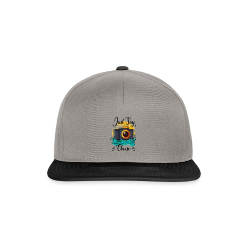 Just say Cheese - Snapback Cap