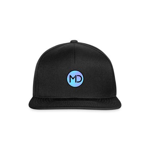MD Blue Fibre Trans - Snapback Cap