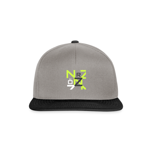 Nörthstat Group™ Clear Transparent Main Logo - Snapback Cap