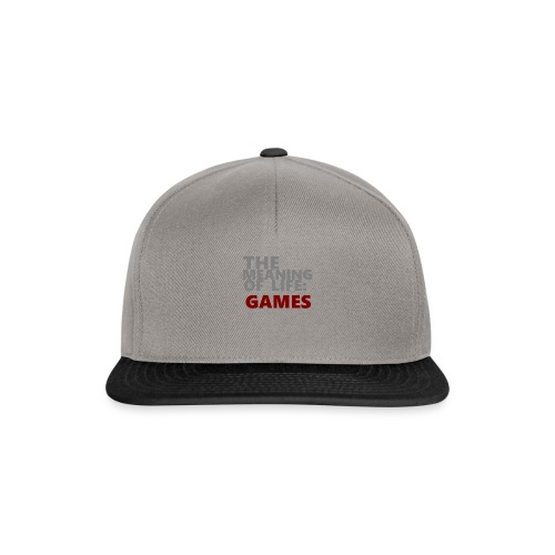 T-Shirt The Meaning of Life - Snapback cap