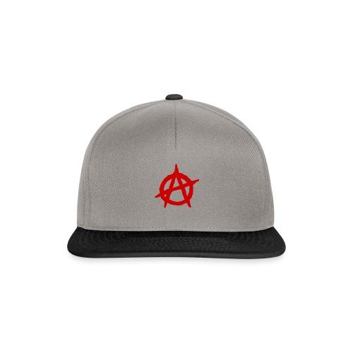 Anarchy logo rosso - Snapback Cap