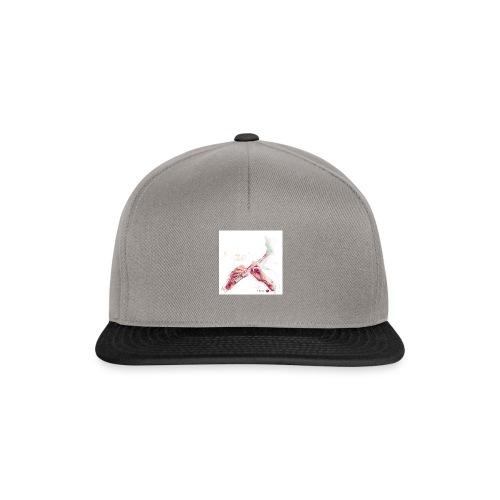 fluitnoten mok - Snapback Cap