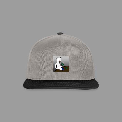 PoopyPoops in het cafe - Snapback cap