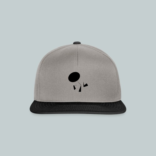 tanzendes Männchen - Snapback Cap