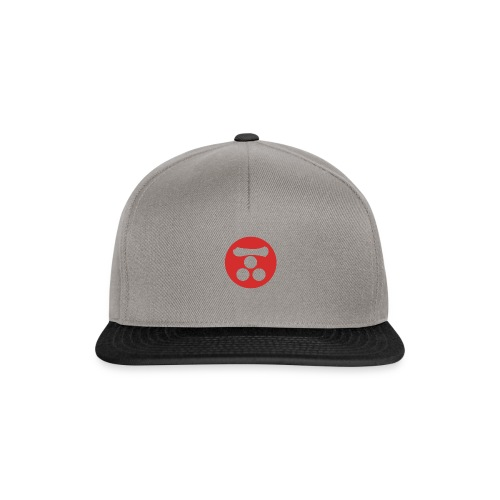 Mori Mon Japanese samurai clan in red - Snapback Cap