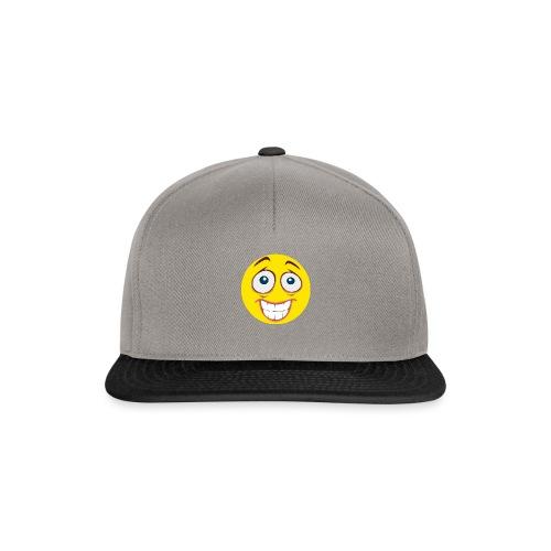 Gekke Smiley - Mannen - Snapback cap