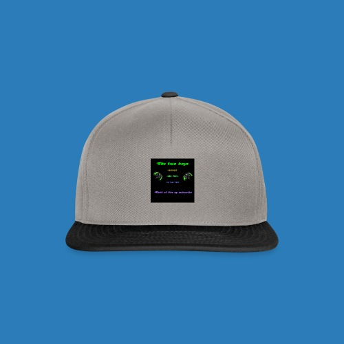 LUISJAKUBINTRO-jpg - Snapback Cap