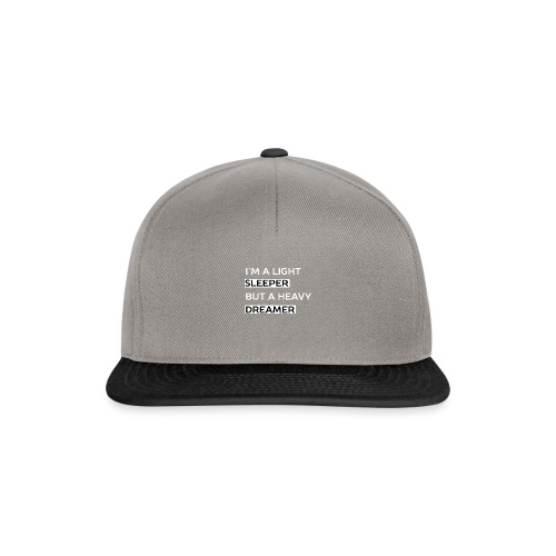 Heavy Dreamer Sweater (Men) - Snapback cap