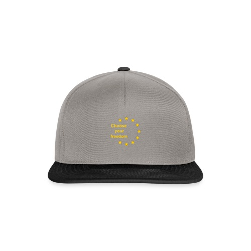 choose_you_freedom-png - Snapback cap