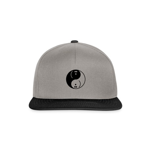 Bowling Yin-Yang - Snapback Cap