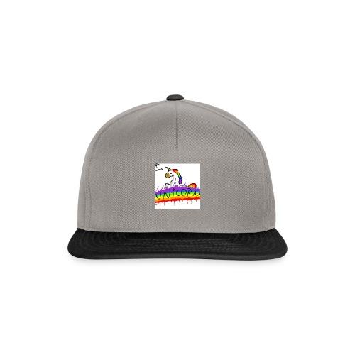 Unicorn klipklapper - Snapback Cap
