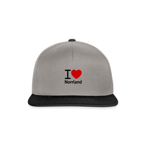 Jag Älskar Norrland (I Love Norrland) - Snapbackkeps