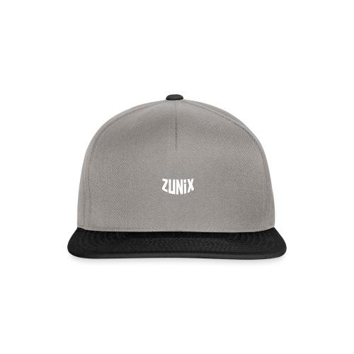 Zunix T-Shirt Vrouw Logo Big - Snapback cap