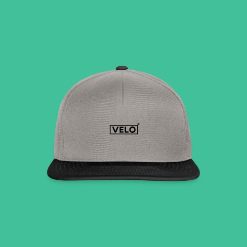 Velo Icon Blk - Long Sleeve Baseball Shirt W/N Clr - Snapback Cap